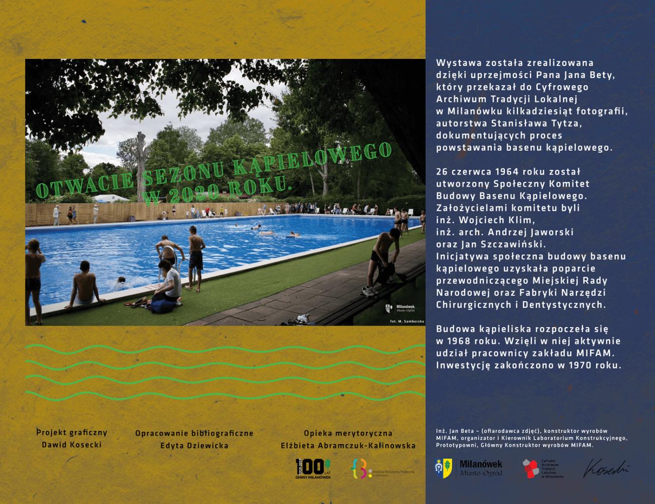 Otwarcie sezonu kąpielowego w2020 roku