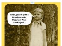 Jadwiga Dzierżanowska wogrodzie. Rok 1933